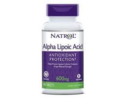 Альфа-липоевая кислота 600 мг 45 таб