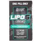 Nutrex Lipo-6 Black HERS Ultra Concentrate (для женщин) 60 капс
