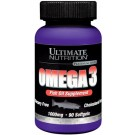 Ultimate Nutrition Omega 3 1000 mg 90 капс