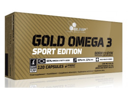 Gold Omega 3 Sport Edition 120 капс