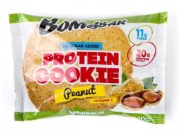 Протеиновое печенье Bombbar 60гр Арахис
