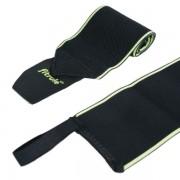 Бинты кистевые FitRule черно-зеленые LIGHT (пара), 50 см