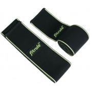 Бинты коленные FitRule черно-зеленый LIGHT, 2 метра