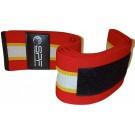 Бинты коленные PowerSystem 180 см. SPF-180-4 Красно-белые