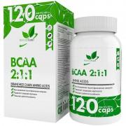 BCAA 2:1:1 Natural Supp 120 капс