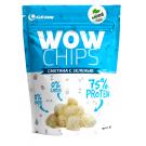 "Протеиновые чипсы WOW CHIPS ""Сметана с зеленью"" 30 гр."