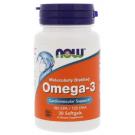 NOW Omega-3 1000 mg 30 капс