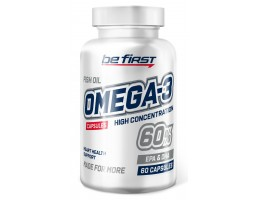 Be First Omega-3 60% High Concentration 60 капс