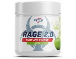 Предтрен GeneticLab RAGE 2.0 (Яблоко)