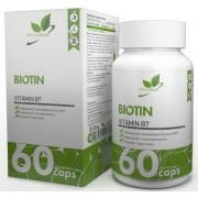 Биотин NaturalSupp 5000 мкг 60 капс