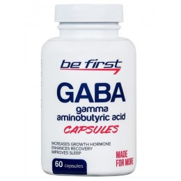 Be First GABA 60 капс