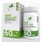NaturalSupp Альфа-липоевая кислота 60 капс