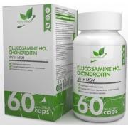 Glucosamine Chondroitin MSM NaturalSupp 60 капс