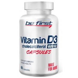Be First Витамин D3 600МЕ 60 капс.