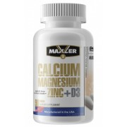 Maxler Calcium Zinc Magnesium + D3 90 таб