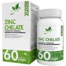 NaturalSupp Zinc chelate (хелат) 60 капс